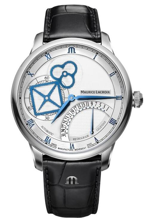 Maurice Lacroix Masterpiece Square Wheel Retrograde MP6058-SS001-110-1 Replica Watch